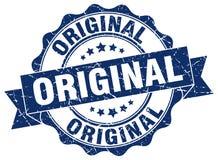 Original stamp. Original grunge stamp on white background Royalty Free Stock Photo