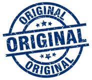 Original stamp. Original grunge stamp on white background Stock Photo