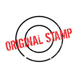 Original Stamp rubber stamp Royalty Free Stock Images