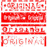 Original Stamp Set Royalty Free Stock Image