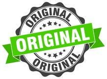Original stamp. sign. seal. Original green stamp. sign. seal Stock Photos