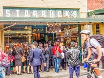 Original Starbucks Royalty Free Stock Photos