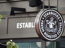 The Original Starbucks Royalty Free Stock Images