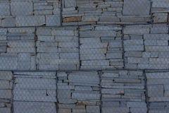 Original- stenvägg vägg för sten för bakgrundsfärggrunge Arkivbilder