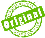 Original Sticker Royalty Free Stock Photography