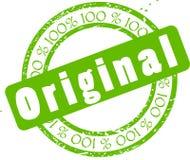 Original Sticker Royalty Free Stock Photography