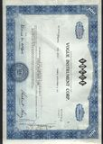 Original Stock Certificate Royalty Free Stock Images