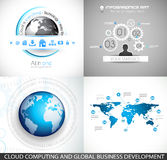 Original Style Infographics Templates Royalty Free Stock Photos