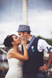 Original stylish wedding Stock Images