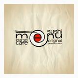 Original sushi menu card design. Eps10 Stock Photos