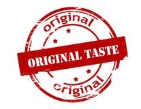 Original taste. Rubber stamp with text original taste inside, vector illustration Stock Images