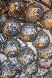 Original texture of glass lamp Stock Photos