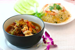 Original thai cuisine Royalty Free Stock Photo