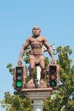 Original  traffic light Royalty Free Stock Image