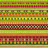 Original tribal doddle ethnic pattern. Stock Photography