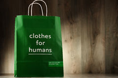 Original United Colors of Benetton paper shopping bag Stock Photo