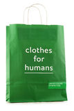 Original United Colors of Benetton paper shopping bag Royalty Free Stock Image