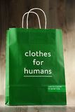 Original United Colors of Benetton paper shopping bag Stock Photos