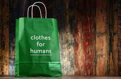Original United Colors of Benetton paper shopping bag Royalty Free Stock Photo