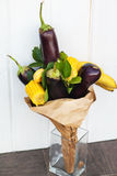 The original unusual edible bouquet of fruits Royalty Free Stock Image