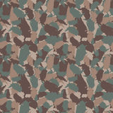 Original USA shape camo seamless pattern. Colorful America urban camouflage. Vector fabric textile print design.  Royalty Free Stock Photo