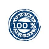 100% original vector rubber stamp Royalty Free Stock Photo