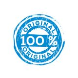 100% original vector rubber stamp. Label design ready made template stock illustration