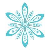 Original vector snowflake Royalty Free Stock Photo