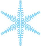 Original vector snowflake Royalty Free Stock Photography