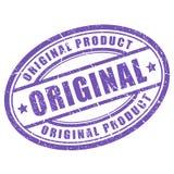 Original vector stamp. Original vector oval stamp on white background Stock Images