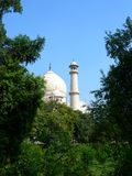 Original view of Taj Mahal Royalty Free Stock Photography