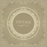 Original vintage frame Royalty Free Stock Image