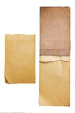 Original vintage paper pad. On white background Royalty Free Stock Image