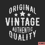 Original vintage stamp Royalty Free Stock Photos