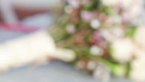 Original wedding bouquet Royalty Free Stock Images