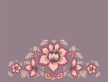 Original wedding invitation. Card exotic flowers.  Royalty Free Stock Images