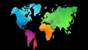 Original world map concept art