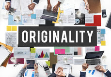 Originality Innovation Intellectual Patent Unique Concept Stock Image
