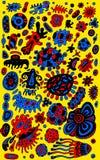 Origine ethnique antique de griffonnage ethnique tribal Tribal et boho Photographie stock
