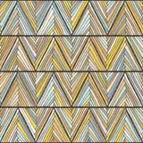 Origine ethnique colorée abstraite dans le rétro style Images libres de droits
