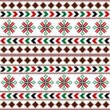Origine ethnique colorée, texture traditionnelle Image libre de droits