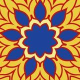 Origine ethnique ornementale décorative tribale de résumé illustration stock