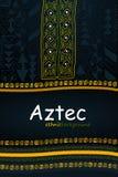 Origine ethnique tirée par la main aztèque ou africaine V tribal abstrait illustration libre de droits