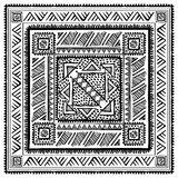 Origine etnica d'annata tribale Immagine Stock