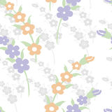 Origineel bloemen naadloos patroon Royalty-vrije Stock Afbeelding