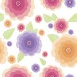Origineel bloemen naadloos patroon Royalty-vrije Stock Fotografie