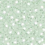Origineel bloemen naadloos patroon Stock Foto