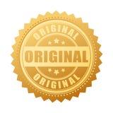 Origineel gouden verbindingspictogram Royalty-vrije Stock Foto's
