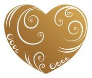 Origineel hart Royalty-vrije Stock Afbeelding