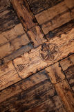 Origineel houten plafond Stock Fotografie